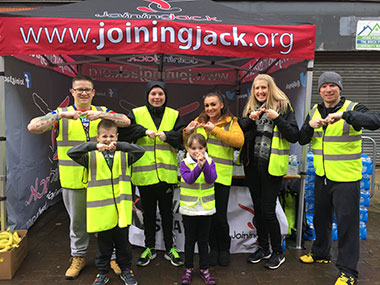 Volunteers for 2017 Run Wigan Festival